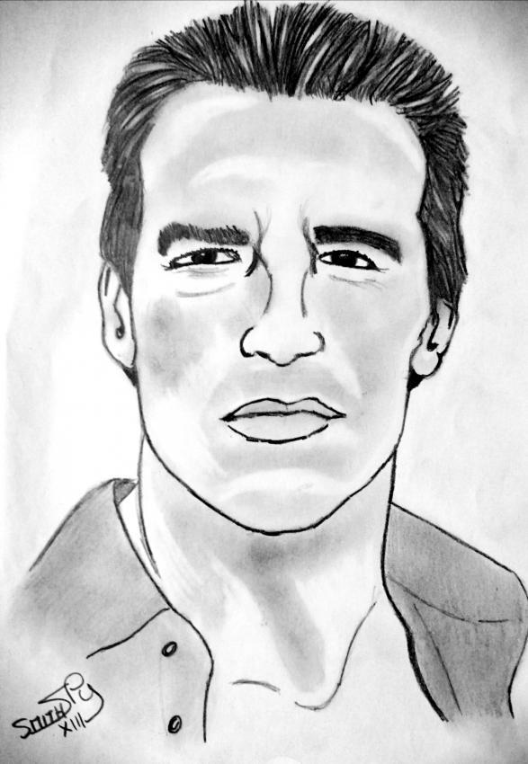 Arnold Schwarzenegger par Marseillais07